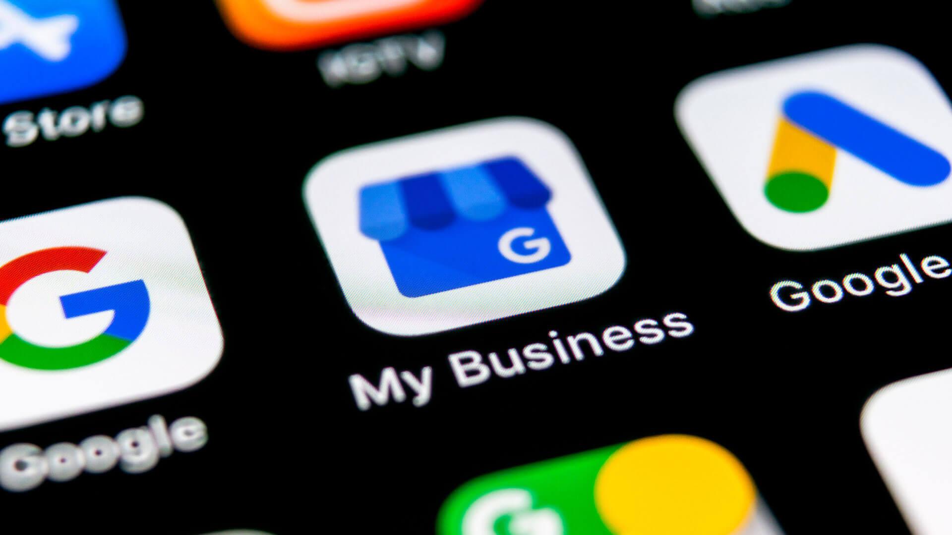 Google My Business SEO mejora la posición de su webiste